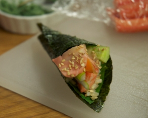 Temaki by Mark; Photo: M.Raymond